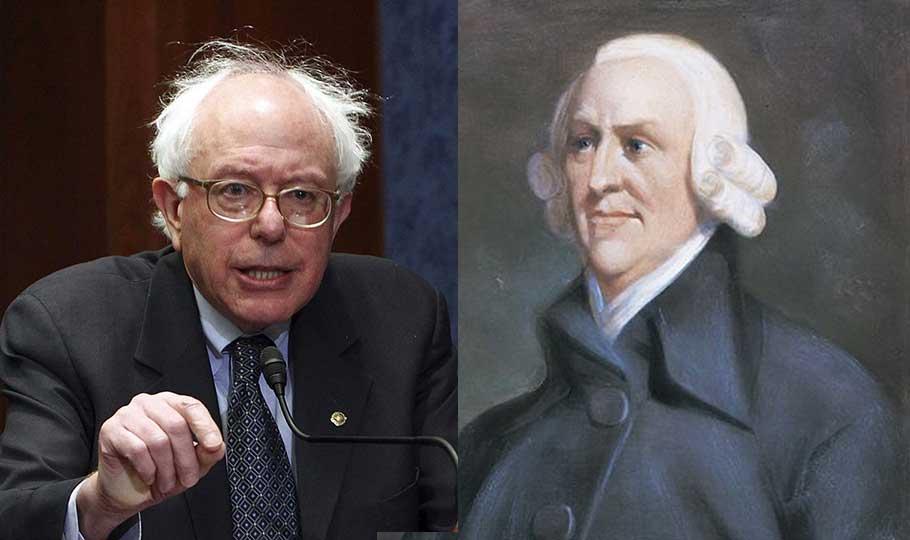 Bernie Sanders and Adam Smith
